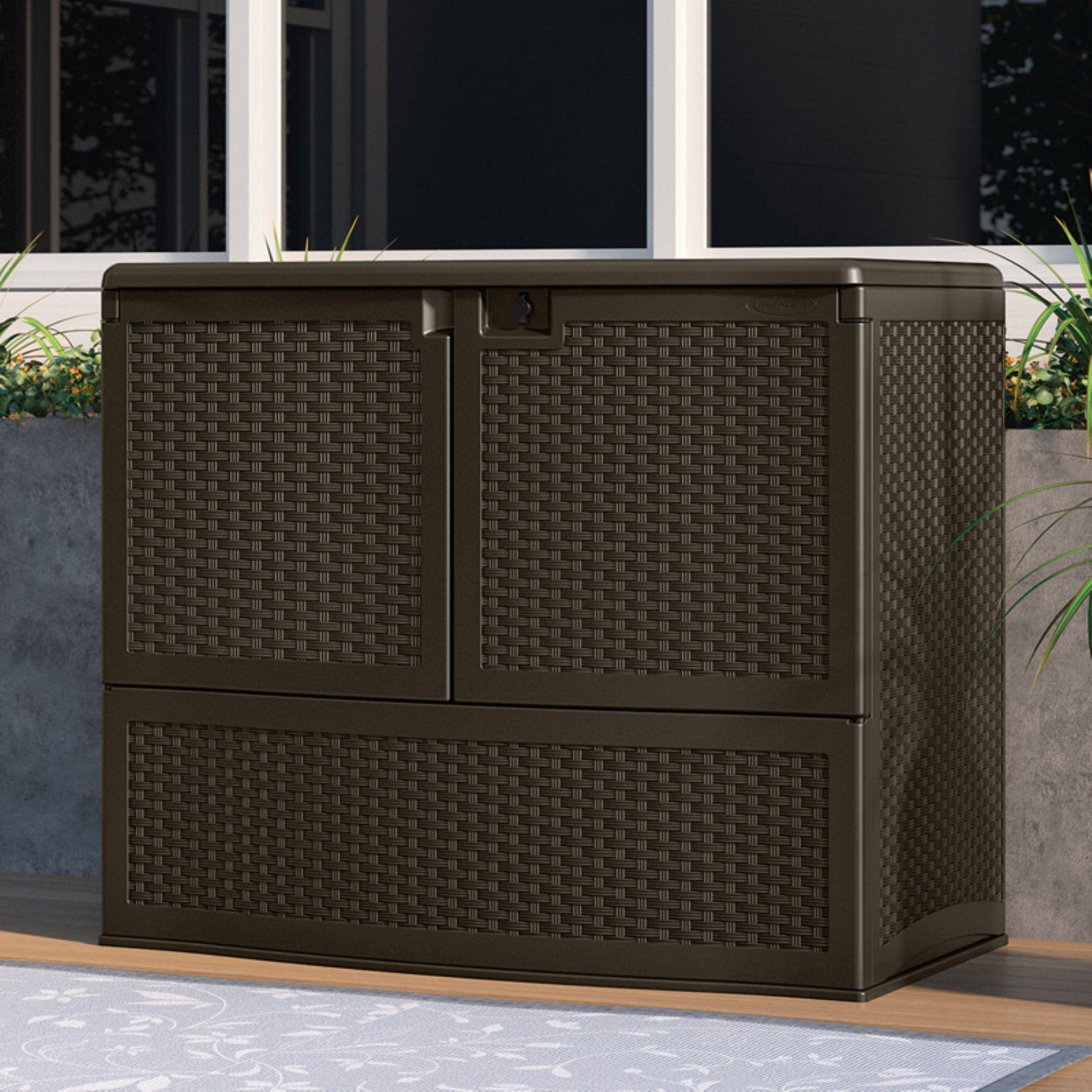 Miraculous Outdoor Suncast Backyard Oasis Storage And Entertaining Download Free Architecture Designs Fluibritishbridgeorg