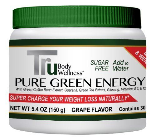 Energy Drink- Natural Pre-Workout Energizer-Pure Green