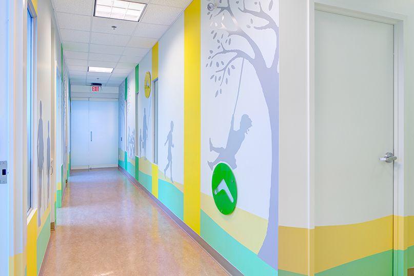 Toronto SickKids Hospital Boomerang clinic - Children healthcare design - www.carch.ca