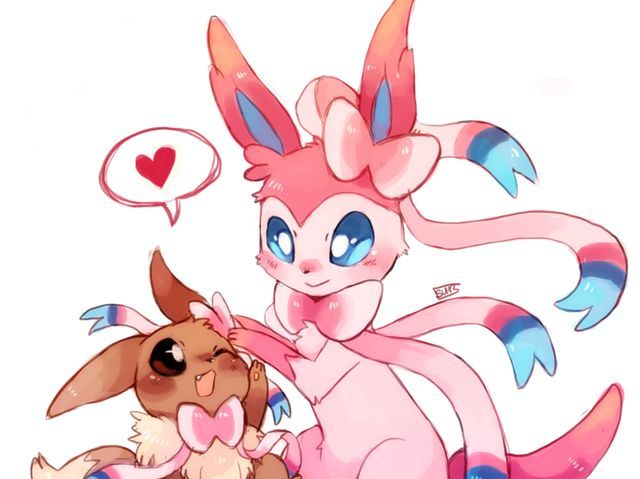 I got: Sylveon! What Eeveelution Are You?