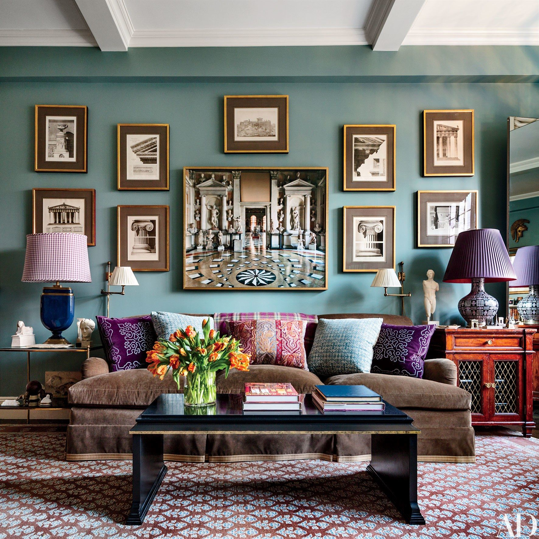 Hampton Greene Apartments: These Blue-Green Rooms Are The Ultimate Serene Spaces In