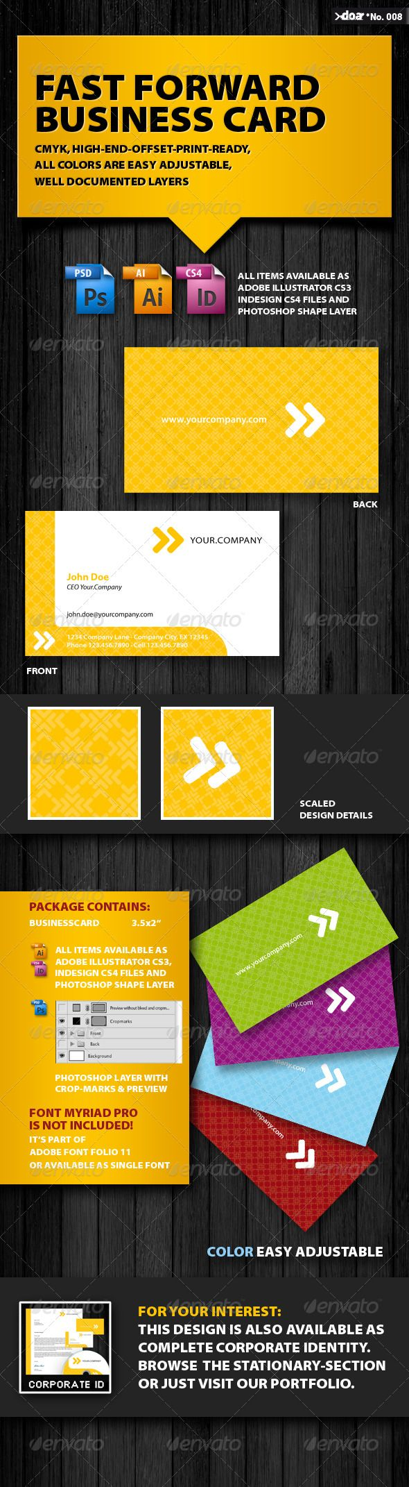 Fast forward business card offset printing business cards and fast forward business card reheart Image collections