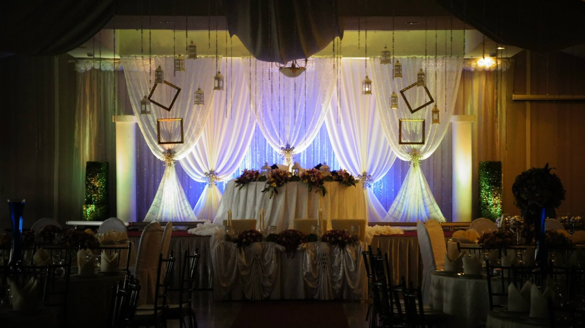 Another Beautiful Drapes Backdrop We Did For Ralph Diann Star