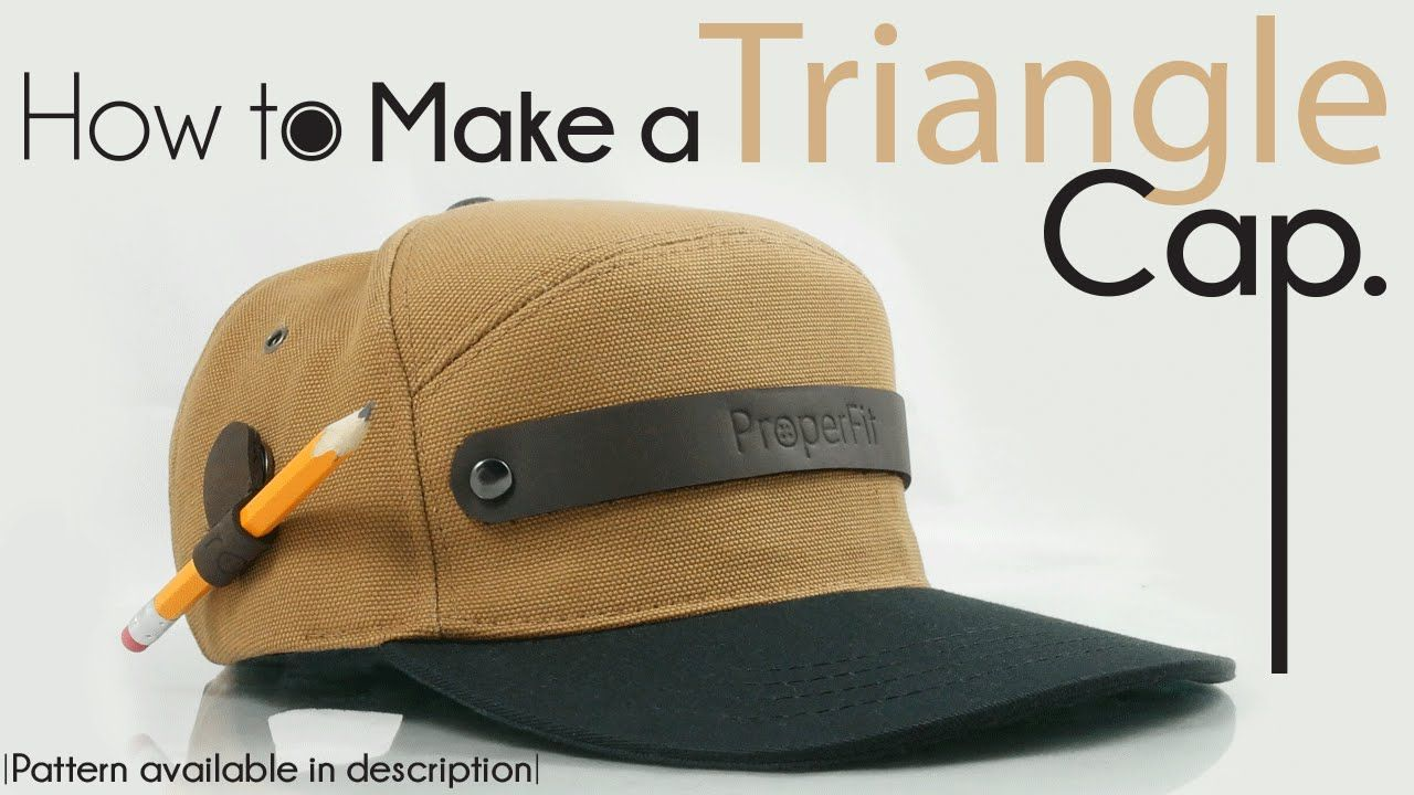 Official How To Make Triangle Snapback Hat New Hat Patterns To Sew Snapback Hats Hats