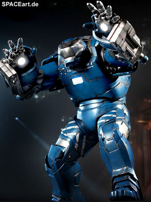 Iron Man 3: Igor Mark XXXVIII - Deluxe Figur, Fertig-Modell, http://spaceart.de/produkte/irm025.php