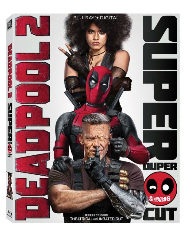 deadpool 2 super duper cut hitting hard on blu ray this august and comic con plans announced at why so blu