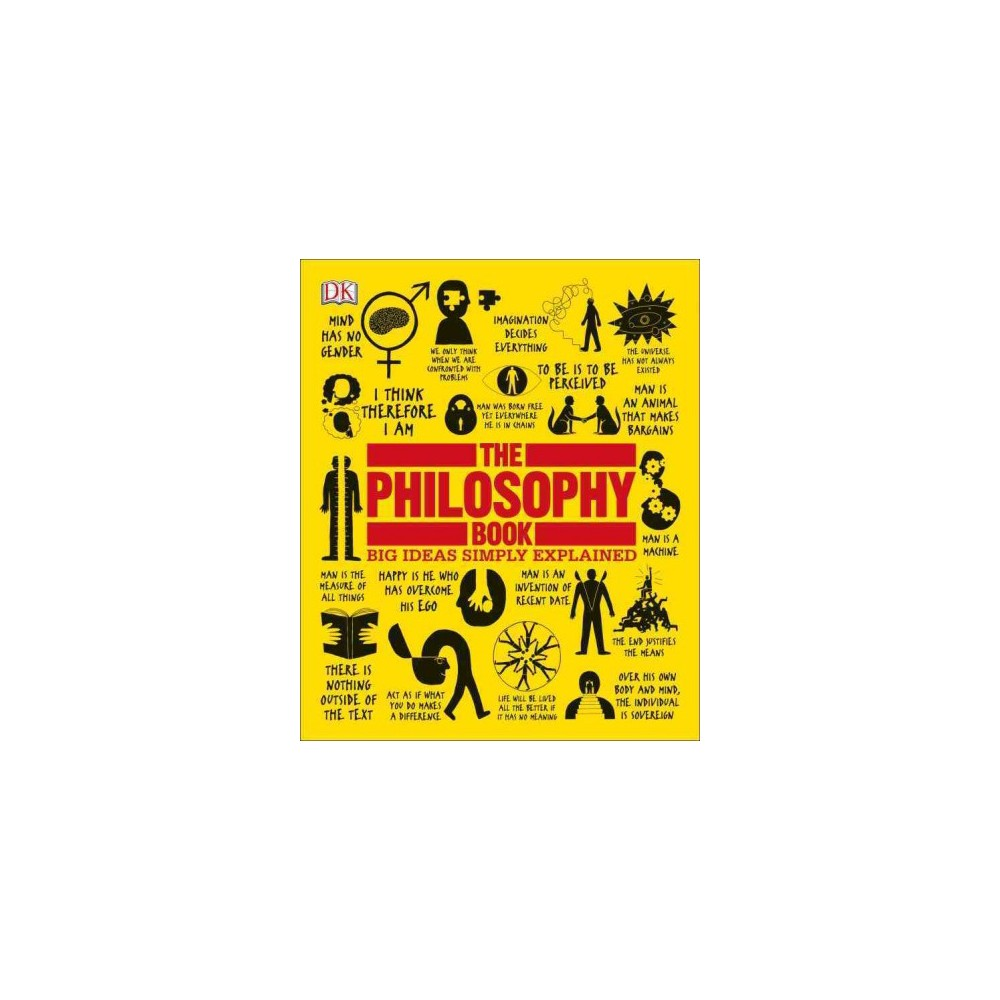 Philosophy Book Big Ideas Simply Explained Reprint Paperback