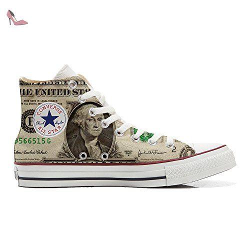 Make Your Shoes Converse Customized Adulte - chaussures coutume (produit artisanal) Design Texture size 35 EU wgJ9MqN