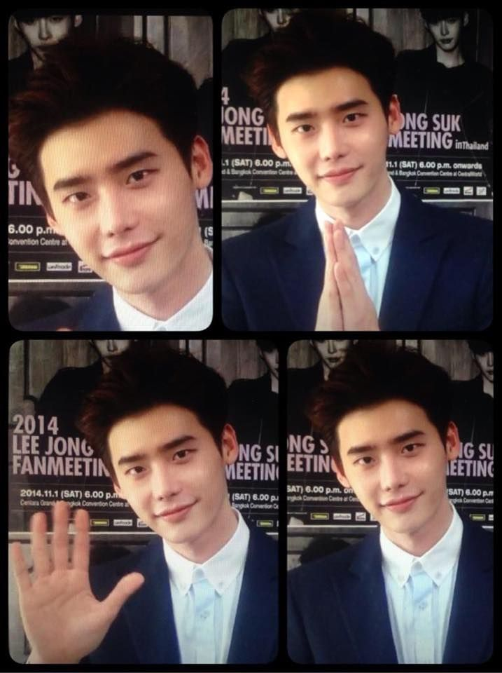 LEE JONG SUK FANMEETING in Thailand 2014. 11.1