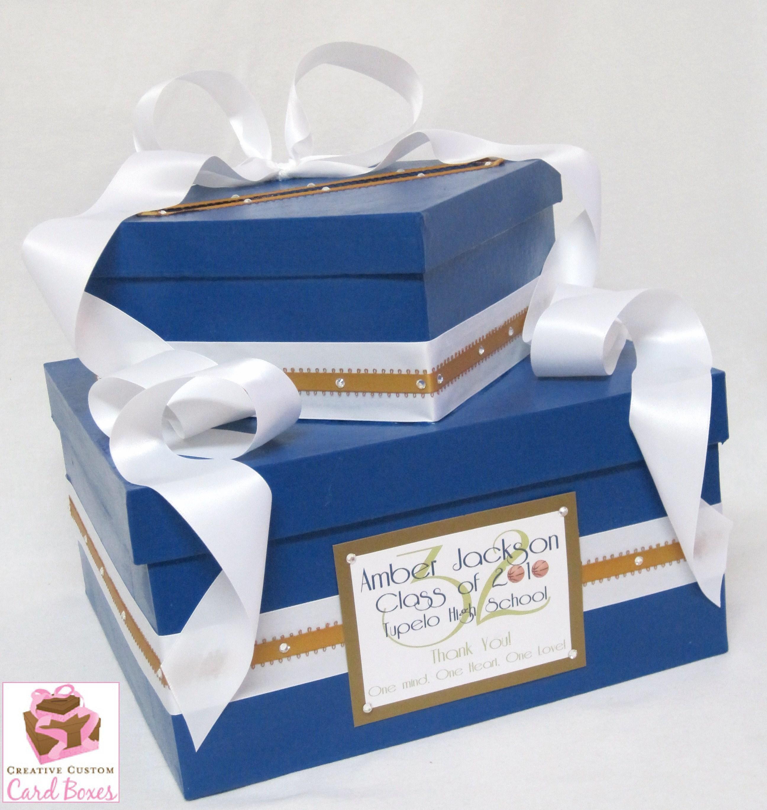 Ideas For Graduation Card Box