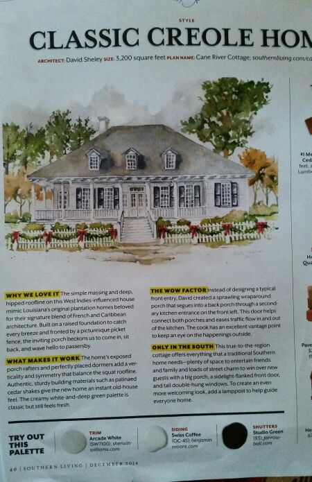 Strange Southern Living Cane River Cottage House Cottage House Interior Design Ideas Truasarkarijobsexamcom