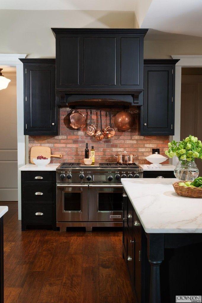 97 04 What S Here Burnished Clear Pine Old Cupboard Door Pitch Black Milk Paint Over Cherry Stain Kitchen Interior Interior Design Kitchen Brick Kitchen