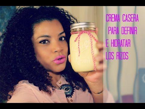Crema Casera Para Definir Los Rizos Karite Coco Y Mango Cabello Rizado Cuidado Para Cabello Rizado Consejos Para Cabello Rizado