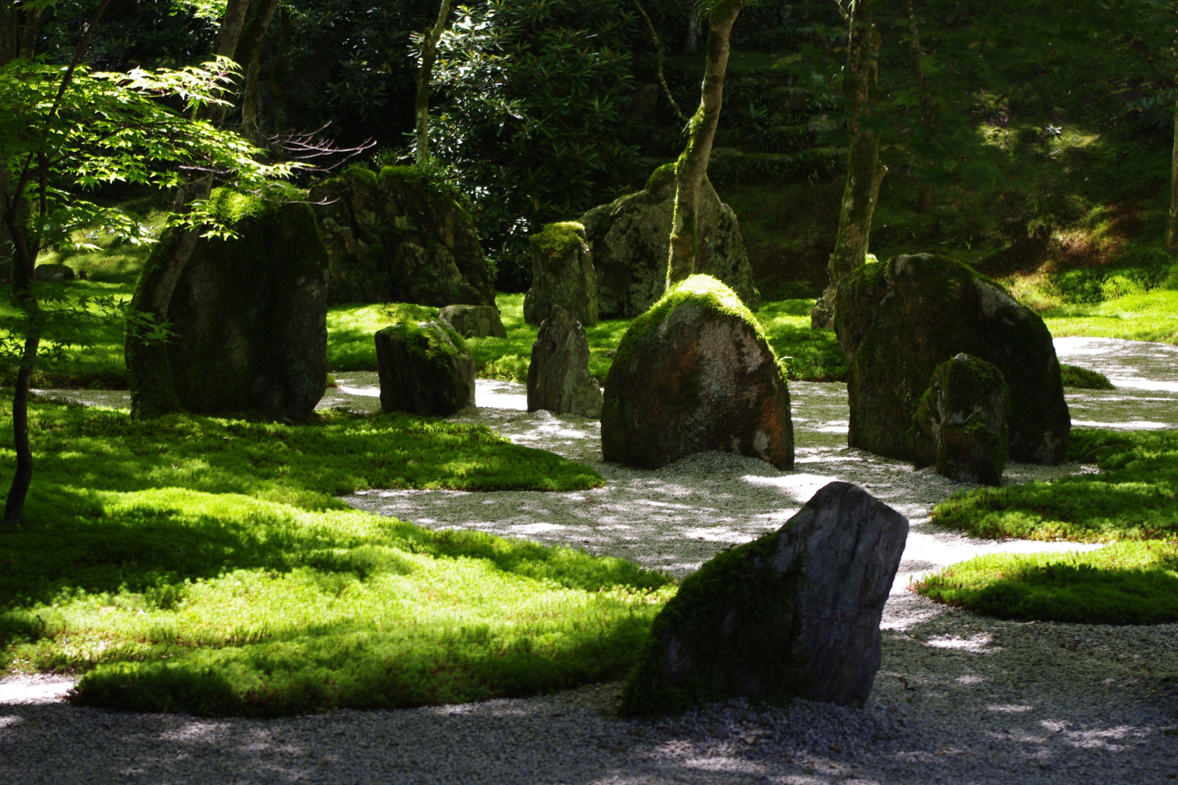 Zen Gardens, Japanese Gardens, Zen Rock, Japanese Aesthetic, Outdoor Structures,