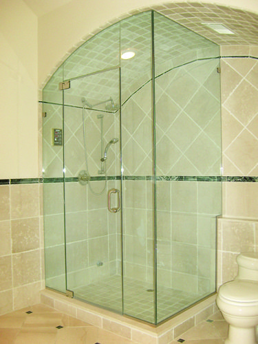 Curved Bent Glass Shower Enclosures Cool But Can They Be