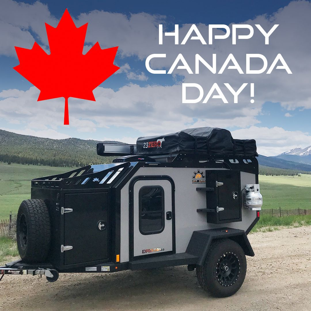 Happy canada day from the team at off grid trailers