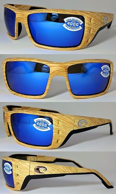 98ce9c2dc22 Sunglasses 79720  Costa Del Mar Permit Sunglasses Ashwood Frame Blue Mirror  400G Glass Lens -  BUY IT NOW ONLY   119.99 on eBay!