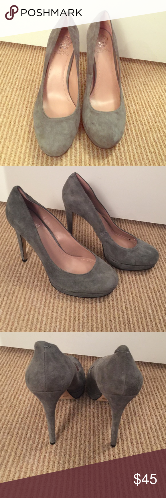Vince Camuto Heels Size 10.  Great condition! Vince Camuto Shoes Heels