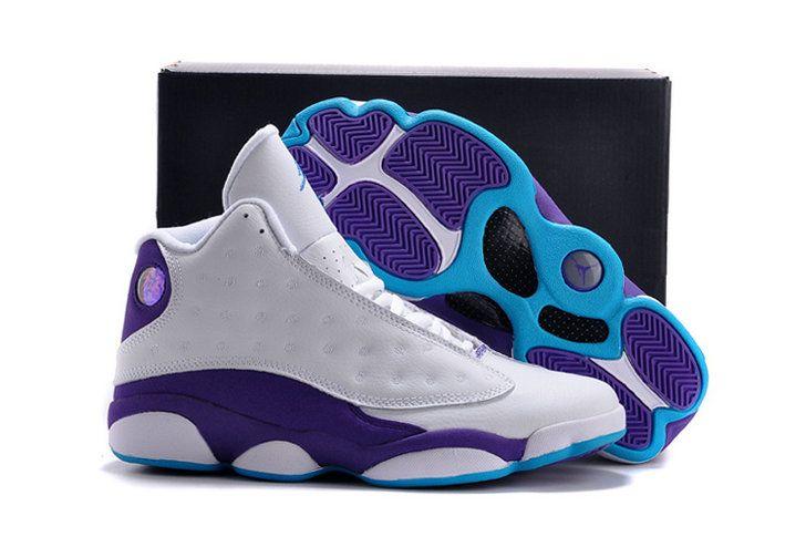 Authentic Cheap Air Jordan 13 Wholesale sky-blue white shoe nike jordan  retro 13 shoe