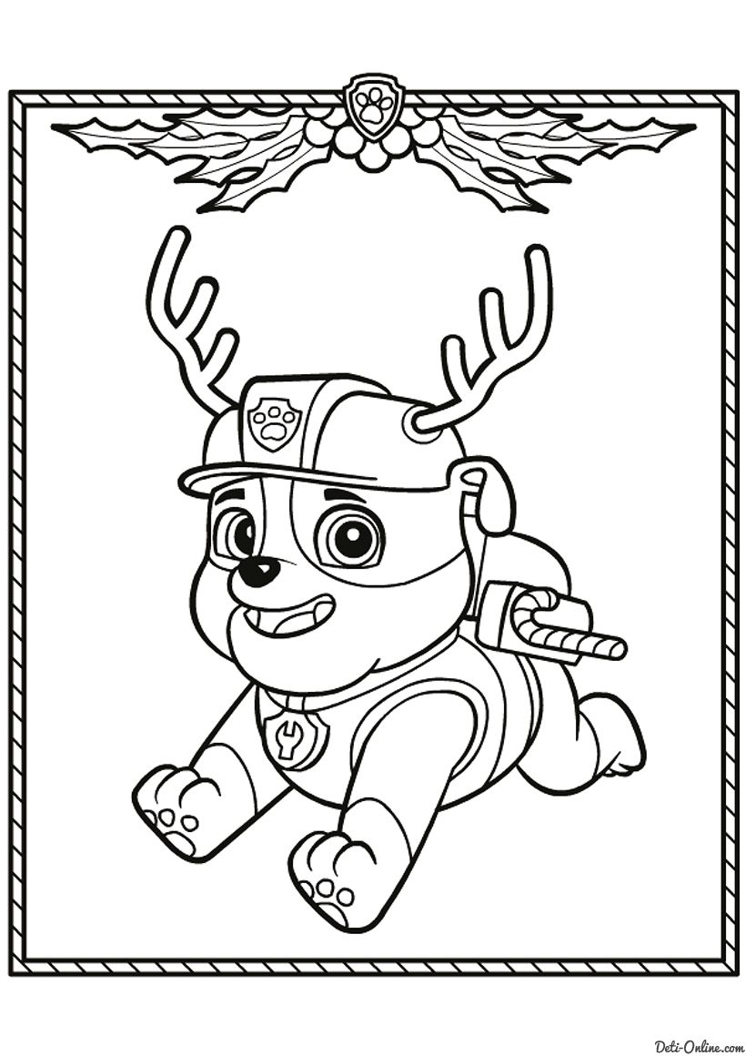 tuques coloring pages - photo#23