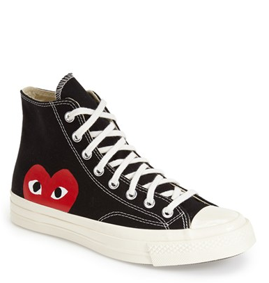 Converse Chuck Taylor All Star Hi Twisted Patches Sneaker Black White