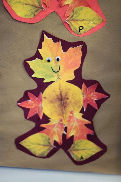 Leaf Man-Students go on a leaf hunt after reading Leaf Man ...
