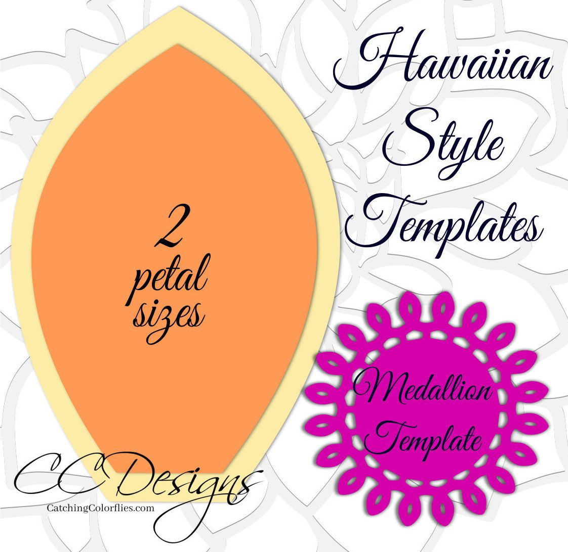 Giant hawaiian paper flower templates tutorial paper flower giant hawaiian paper flower templates tutorial paper flower izmirmasajfo