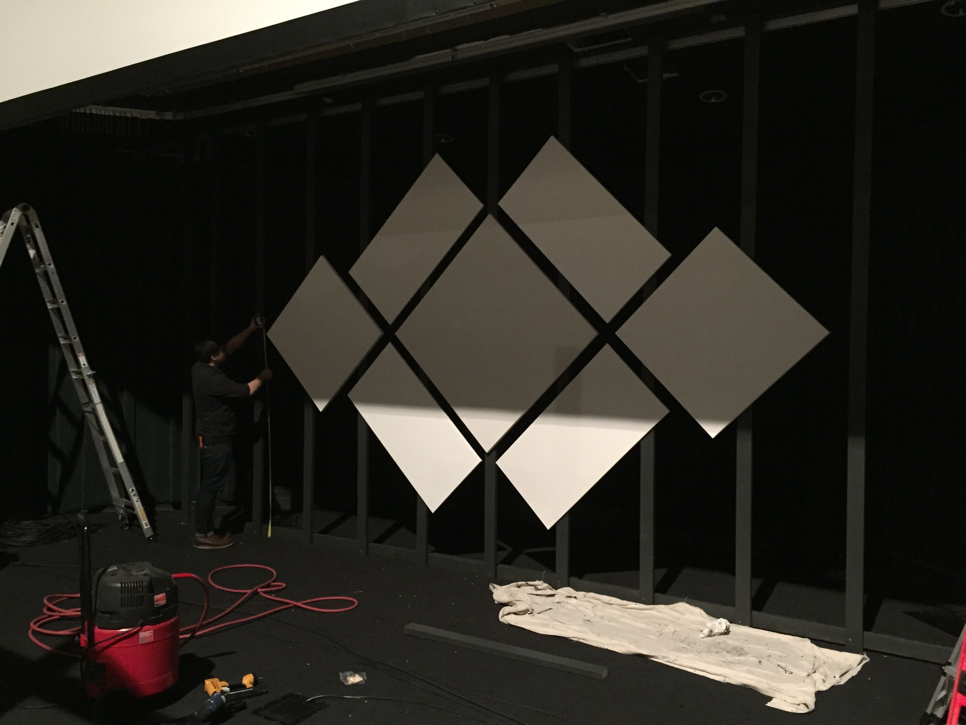 Diamond Projection Stage Backdrop Design Church Stage Design Stage Set Design