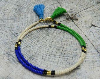 Venta por mayor lote de pulseras de borlas por monroejewelry