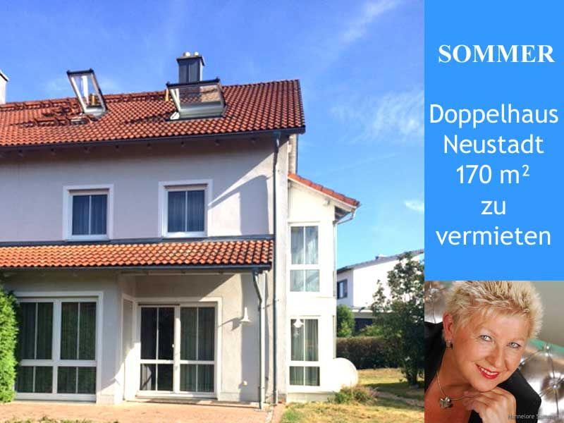 Doppelhaus zur Vermietung in Neustadt WN Entre Eingang