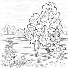 Resultado De Imagen De Dibujar Cascada A Lapiz Edredones