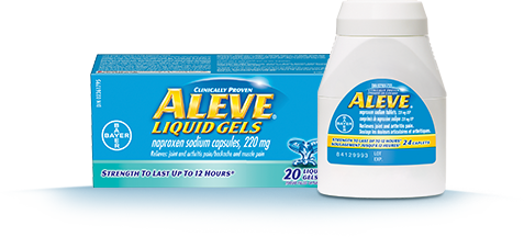 ALEVE® Pain Medication - Product Info