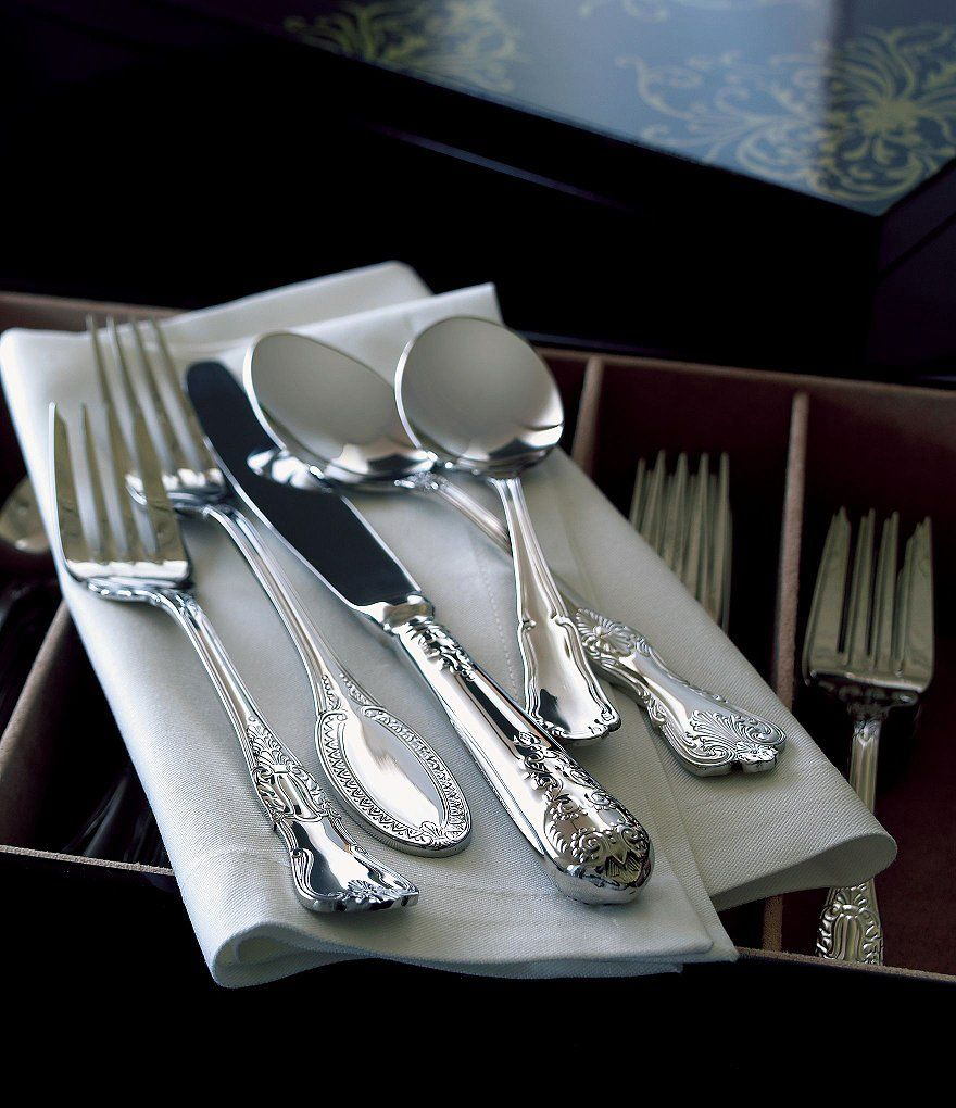 Wallace Silversmiths Hotel Vintage Stainless Steel