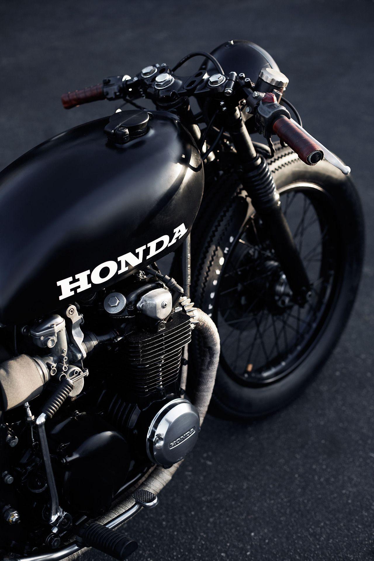 Honda Cafe. Beautiful and subtle