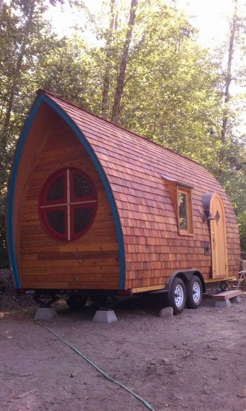 fortune cookie tiny house on wheels by zyl vardos shelter on the run pinterest haus auf. Black Bedroom Furniture Sets. Home Design Ideas