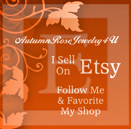 Favorite and follow my shop at www.etsy.com/shop/AutumnRoseJewelry4U