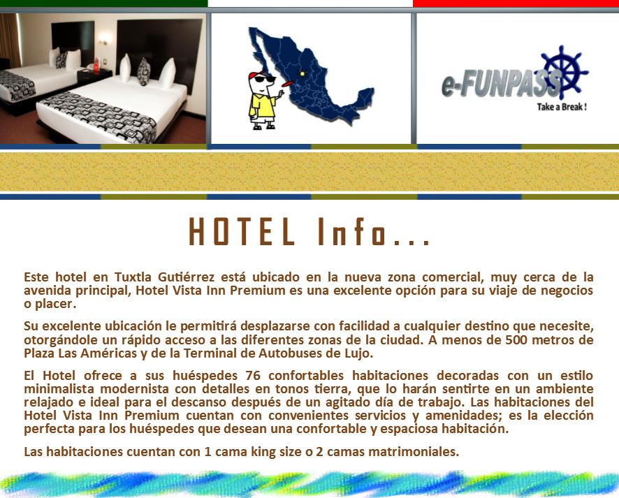 TUXTLA GUTIÉRREZ - Vista Inn Premium
