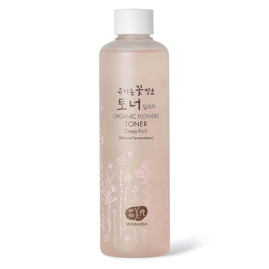 Organic Flowers Deep Rich Essence Toner 300ml Anti Aging Beauty Evian Facial Spray 300 Ml Routine Bestseller