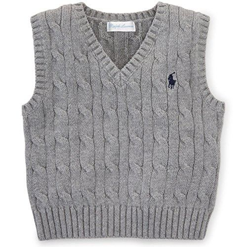Photo of Ralph Lauren Baby Boys' Cable-Knit Cotton Sweater Vest