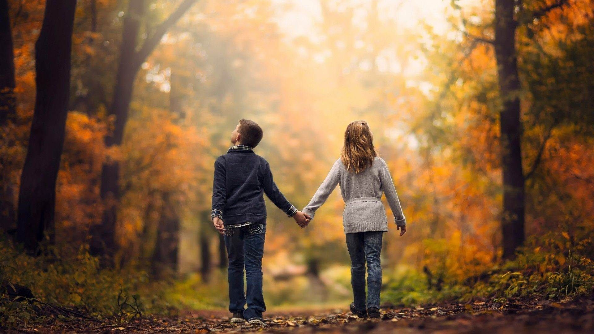 childhood love couple wallpaper hd high quality download 1920×1080