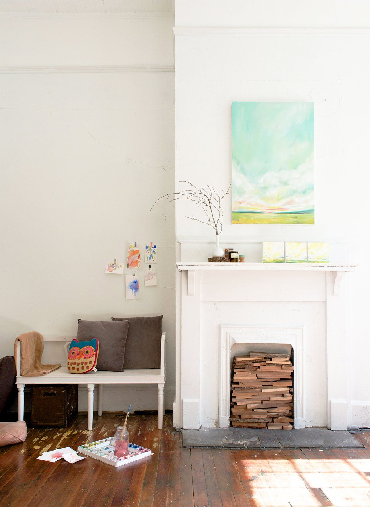 Studio Tour With Artist Emily Jeffords - decor8