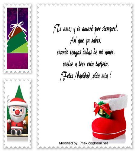 palabras para enviar en Navidad,sms bonitos para enviar en Navidad : http:/