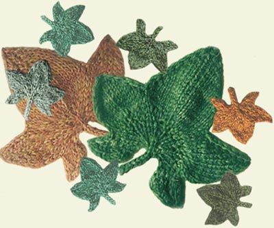 Ivy Leaf Knitting Pattern : You can see a huge poster of Googles co-founders, Larry Page & Serge...