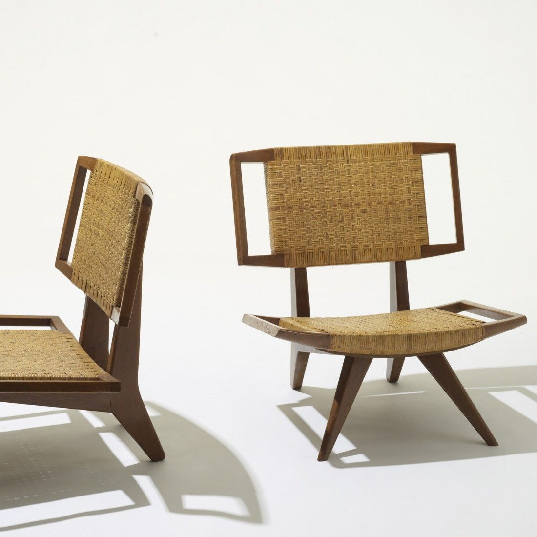 Modern savonarola chair - Paul Laszlo Lounge Chair For Glenn Of California 1950