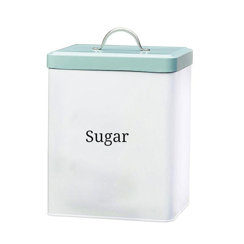 Food grade metal rectangle sugar storage container  sc 1 st  Pinterest & Food grade metal rectangle sugar storage container | Storage can ...