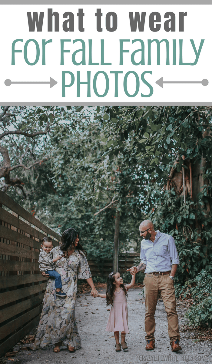 What Colors To Wear For Outdoor Family Pictures