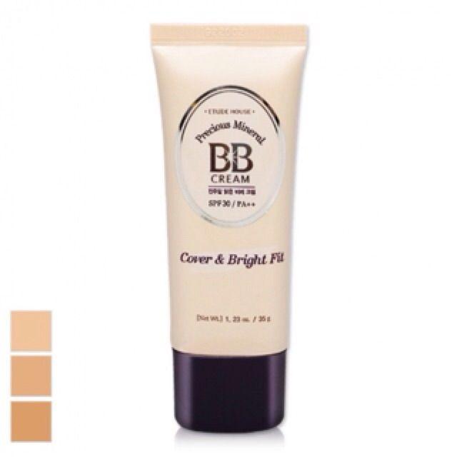Free Ongkir Etude House Precious Mineral Bb Cream Cover Bright Fit Bb Cream Etude House Gel Moisturizer