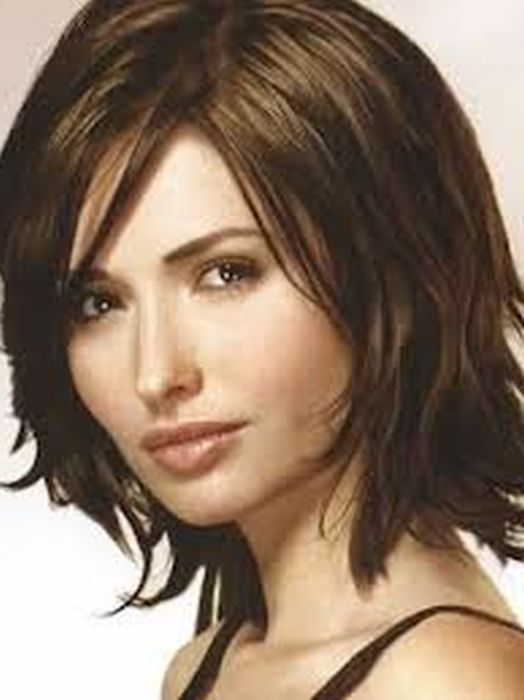 Short Summer Haircuts For Thick Hair : New short hairstyles for thick hair long face