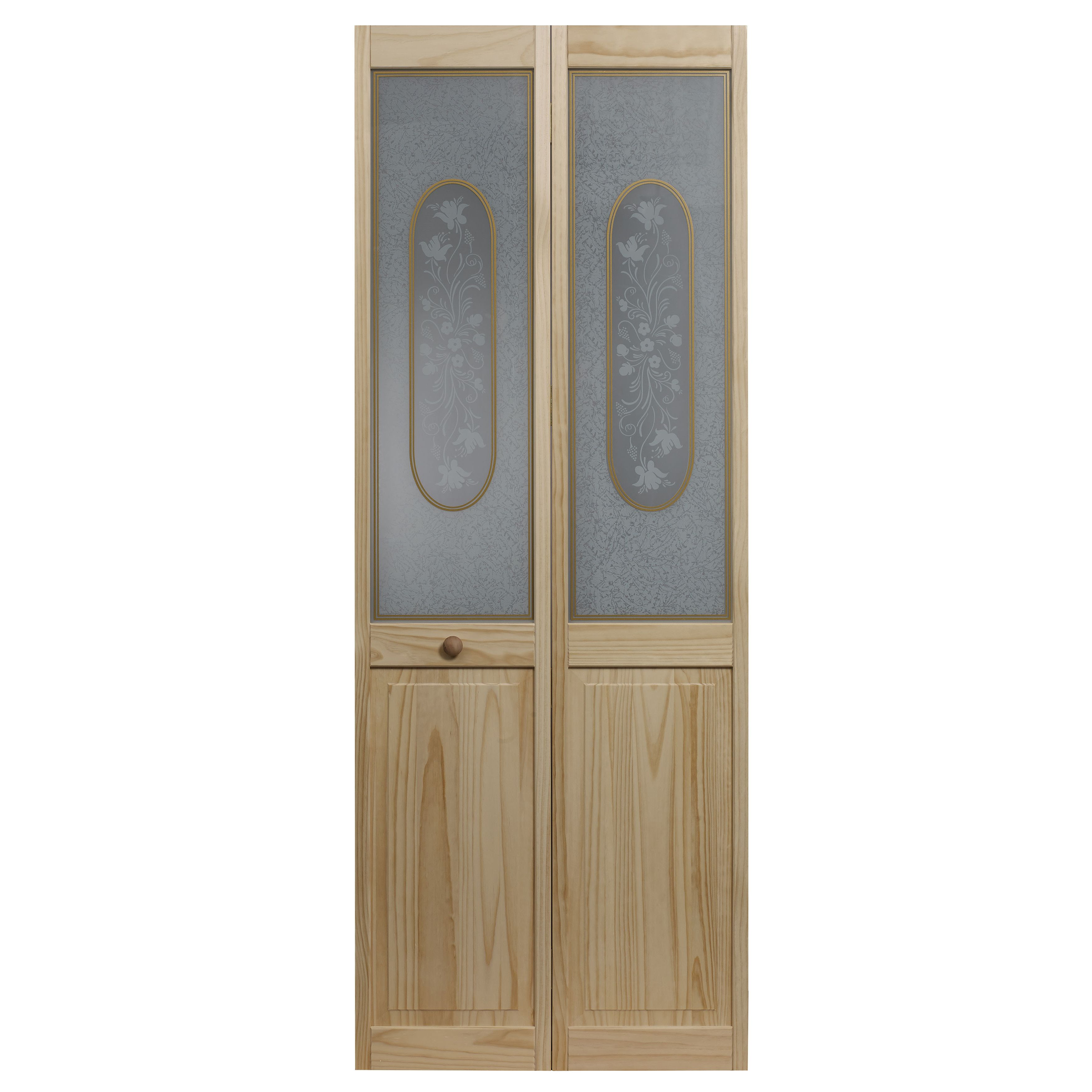 Features Bi Fold Door Tempered Safety Glass Traditional Look