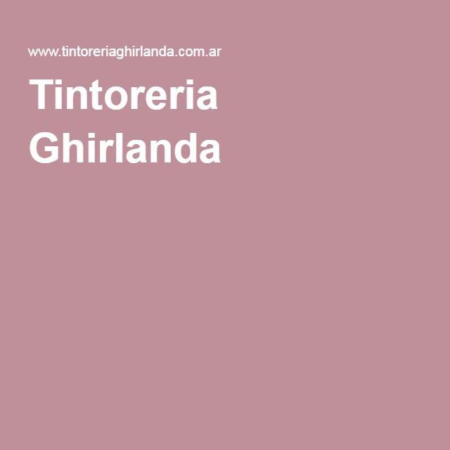Tintoreria Ghirlanda